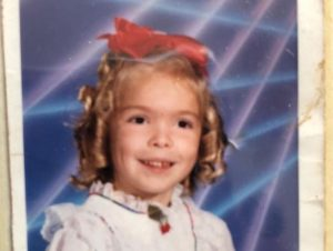 Childhood Image of Colleen Wolfe
