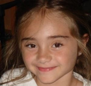 Childhood image of Gabby Murray
