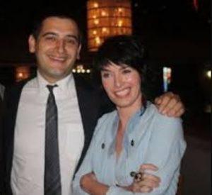 Dan Cadan with Lena Headey