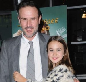 David Arquette with his daughter, Coco from ex-wife, Courteney Cox
