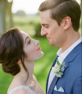 Fedor Andreev on the day of his wedding with wife, Meryl Davis