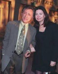 Frankie Valli with his third ex-wife, Randy Clohessy