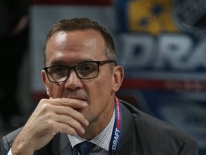 General Manager of Detroit Red Wings, Steve Yzerman