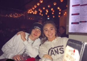 Gabby Murray along with her boyfriend, Pat Sewell
