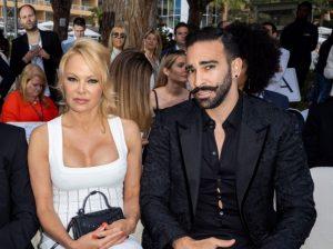 Pamela with her ex-boyfriend Adil Rami.