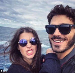 Giuseppe Maggio wishes a Happy Valentine's Day to his partner, Susanna Mazzoncini