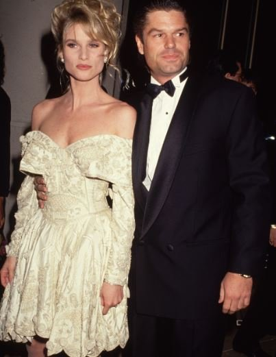 Harry Hamlin with his exwife