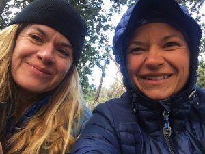 Helen Willink Sharing Joyful Moment With A Friend