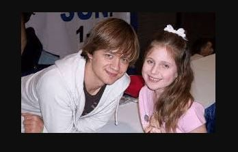 Jason Earles with his daughter Noah