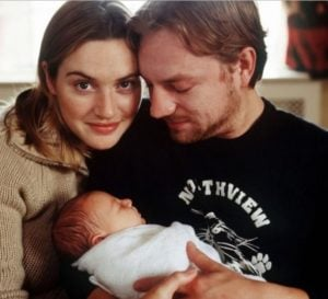 Kate Winslet, Jim Threapleton and their daughter, Mia Honey