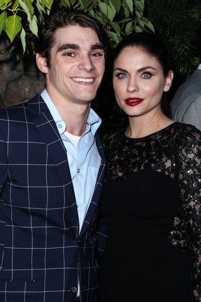RJ Mitte with his girlfriend