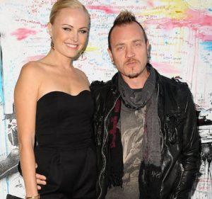 Malin Akerman with her former husband, Roberto Zincone