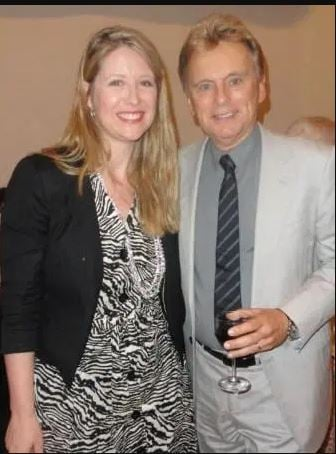 Pat Sajak married twice in his life and in this picture he is with first wife.