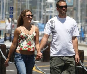 Jasmine with her boyfriend Late Paul Walker