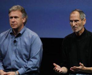 Phil Schiller and Steve Jobs