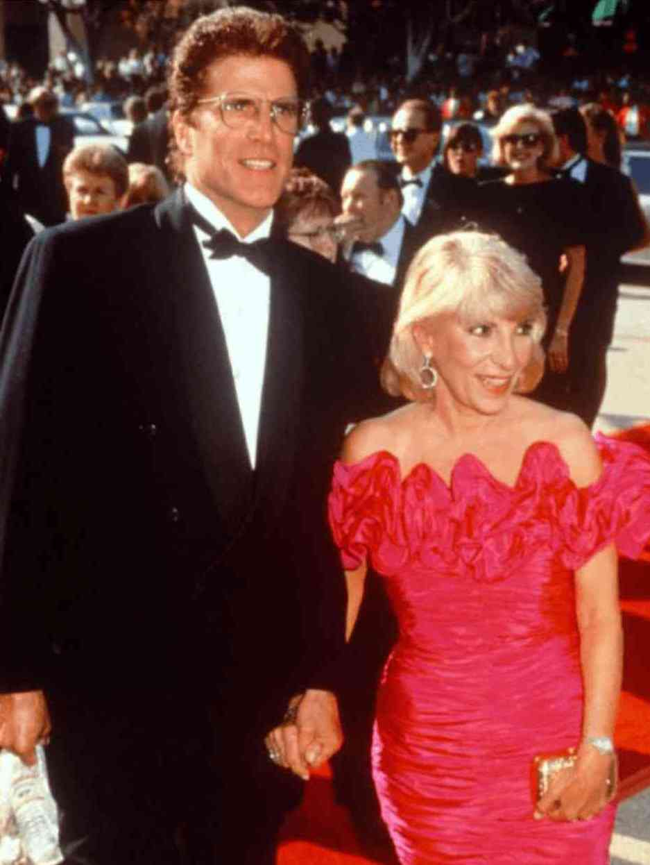 "Ted Danson and his ex-wife Cassandra ""Casey"" Coates"