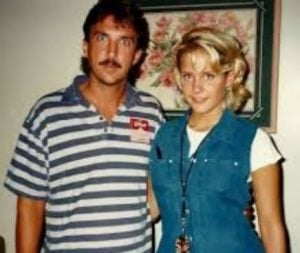 Ted Nugent with his ex-wife, Sandra Jezowski