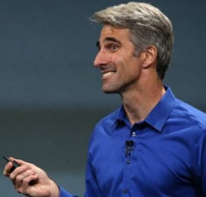 The photo of Craig Federighi