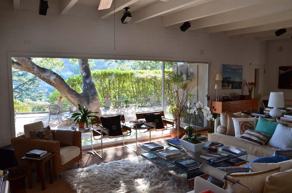 Amanda Pays and Corbin Bernsen's house