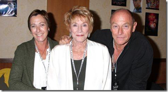 Caren Bernsen with her brother and mom