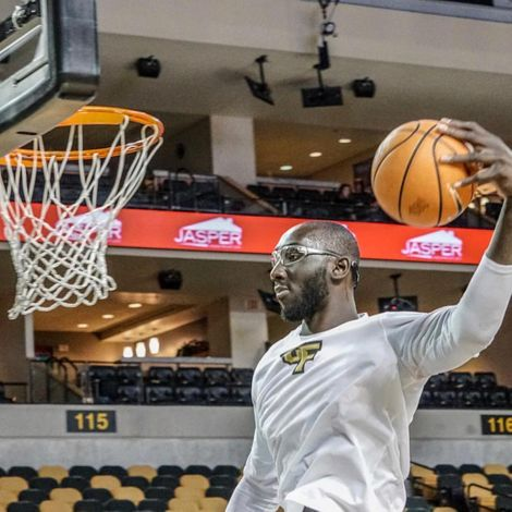 Tacko Fall at the time of his game