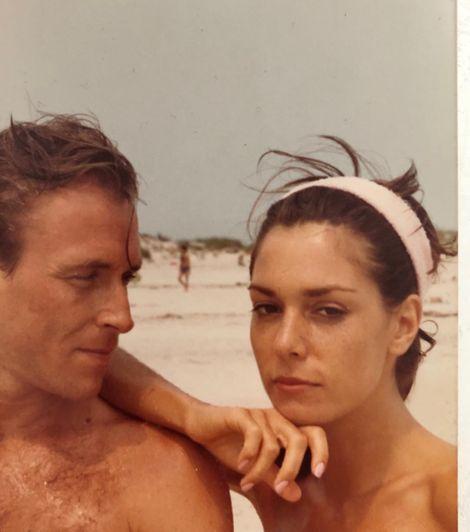 Brenda Cooper with her former husband