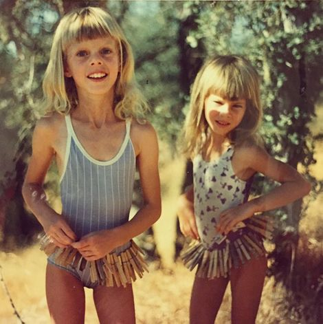 Cora Skinner and her sister