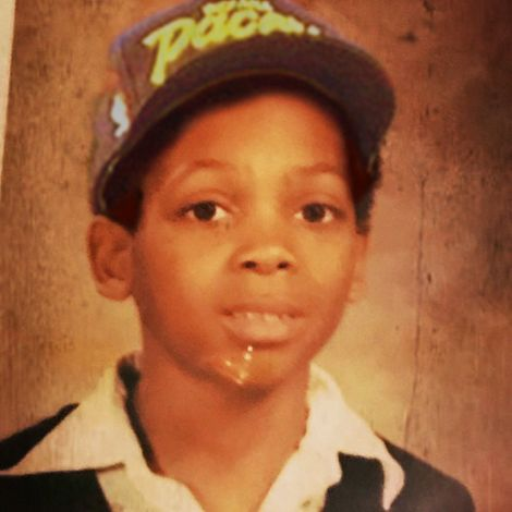 Mike Epps in his childhood days