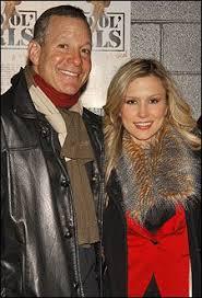 Steve Guttenberg with his ex-girlfriend Anna Gilligan