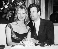 Diane with Bruce during their marriage.