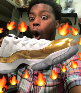 keith leak jr shoes