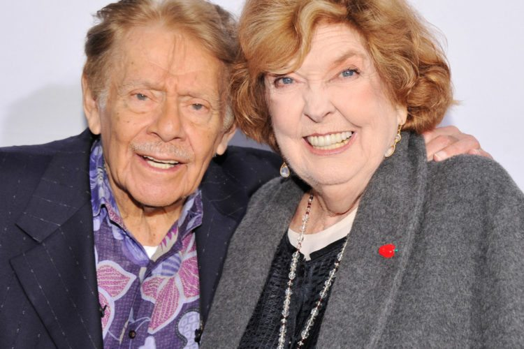 Jerry Stiller with his wife Anne Meara