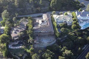 Jack's dad Chris bought the Los Angeles based house for $15 million.