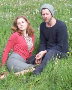Darren Le Gallo chilling with his wife Amy Adam.