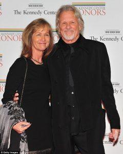 Lisa with her husband Kris.
