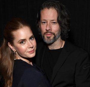 Darren Le Gallo with wife Amy Adams.