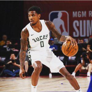 Xavier playing during NBA league game.