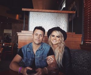 Kaylin with her fiance Bryson.