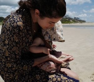 Nikki Reed spending quality time with her daughter