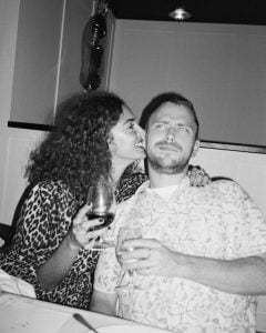 Anna Shaffer kissing boyfriend Jimmy Stephenson.