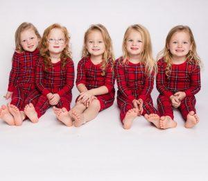 Danielle quintuplets daughters.