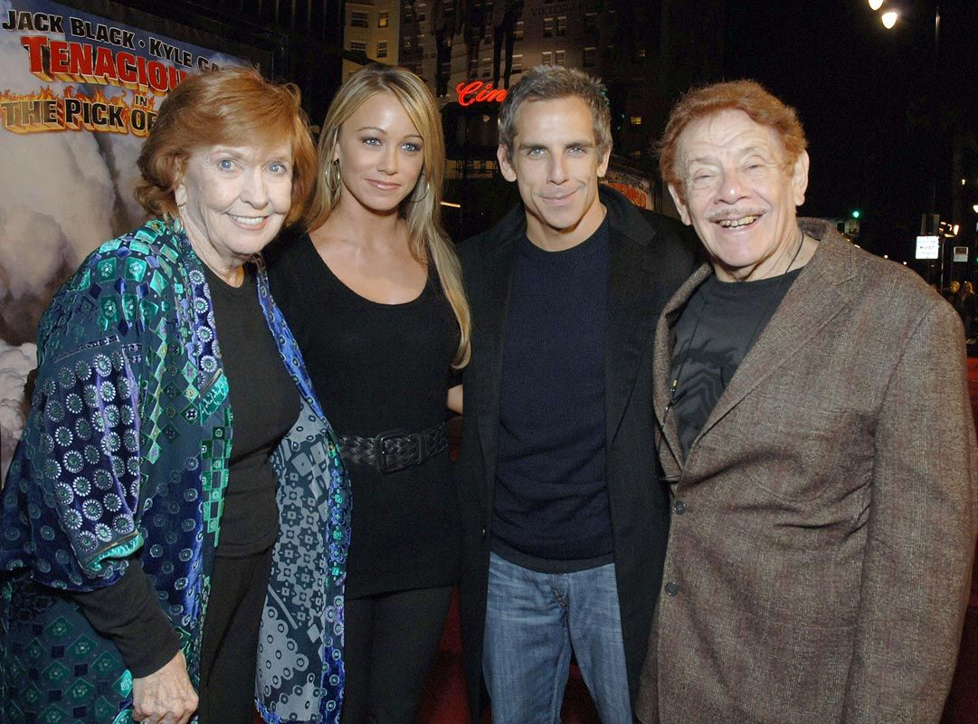 Jerry Stiller and his family
