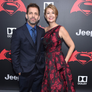 Deborah Snyder and her husband Zack Snyder