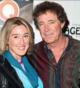 Barry Williams with his former girlfriend, Elizabeth Kennedy