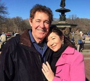 Barry Williams with his third and present wife, Tina Mahina