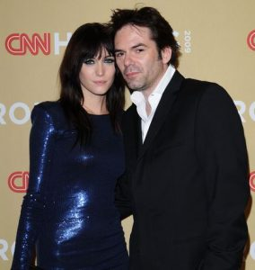 Billy Burke with his ex-wife, Pollyanna Rose while attending an event
