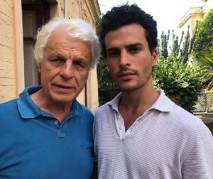 Brenno Placido with his father, Michele Placido