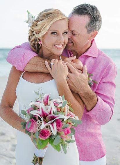 Dawn's wedding picture