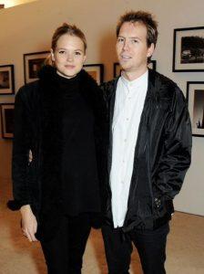 Sasha's parents Alan Pownall and Gabriella Wilde.