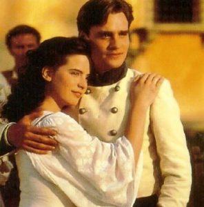 Luke Norris with his wife, Joanna Horton